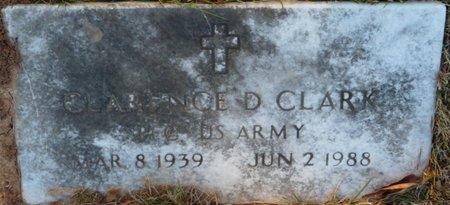 CLARK (VETERAN), CLARENCE D - Colbert County, Alabama | CLARENCE D CLARK (VETERAN) - Alabama Gravestone Photos