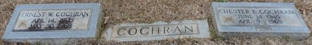 COCHRAN, ERNEST W - Colbert County, Alabama | ERNEST W COCHRAN - Alabama Gravestone Photos