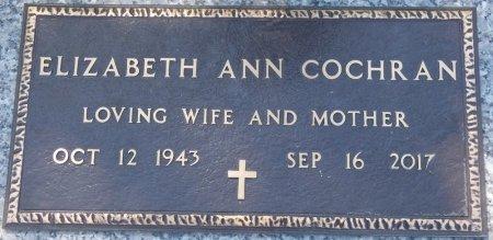 COCHRAN, ELIZABETH ANN - Colbert County, Alabama | ELIZABETH ANN COCHRAN - Alabama Gravestone Photos