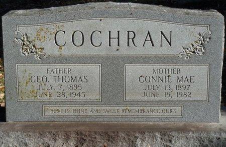 COCHRAN, CONNIE MAE - Colbert County, Alabama   CONNIE MAE COCHRAN - Alabama Gravestone Photos