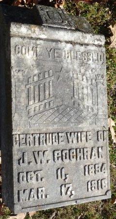 COCHRAN, GERTRUDE - Colbert County, Alabama | GERTRUDE COCHRAN - Alabama Gravestone Photos
