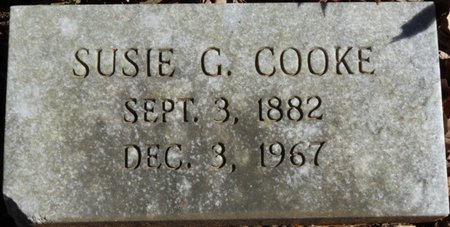 COOKE, SUSIE G - Colbert County, Alabama | SUSIE G COOKE - Alabama Gravestone Photos