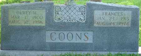 COONS, FRANCES - Colbert County, Alabama | FRANCES COONS - Alabama Gravestone Photos