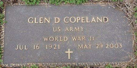 COPELAND SR. (VETERAN WWII), GLEN DOYLE - Colbert County, Alabama | GLEN DOYLE COPELAND SR. (VETERAN WWII) - Alabama Gravestone Photos