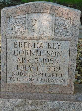 CORNELISON, BRENDA KEY - Colbert County, Alabama | BRENDA KEY CORNELISON - Alabama Gravestone Photos