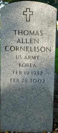 CORNELISON (VETERAN KOREA), THOMAS ALLEN - Colbert County, Alabama   THOMAS ALLEN CORNELISON (VETERAN KOREA) - Alabama Gravestone Photos