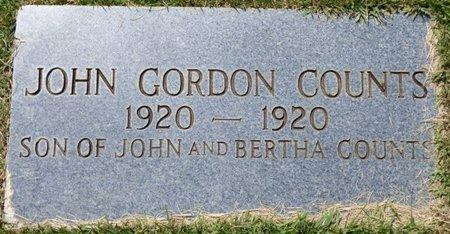 COUNTS, JOHN GORDON - Colbert County, Alabama | JOHN GORDON COUNTS - Alabama Gravestone Photos