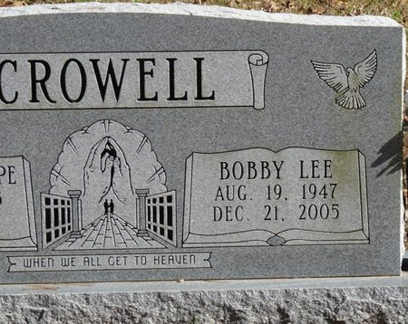 CROWELL, BOBBY LEE - Colbert County, Alabama | BOBBY LEE CROWELL - Alabama Gravestone Photos