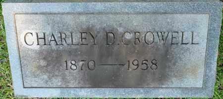 CROWELL, CHARLEY D - Colbert County, Alabama | CHARLEY D CROWELL - Alabama Gravestone Photos
