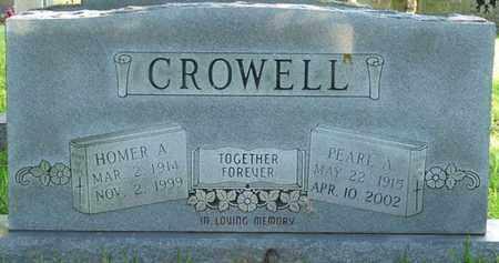 CROWELL, HOMER A - Colbert County, Alabama | HOMER A CROWELL - Alabama Gravestone Photos