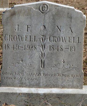 CROWELL, JAMES FRANKLIN - Colbert County, Alabama | JAMES FRANKLIN CROWELL - Alabama Gravestone Photos