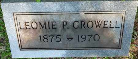 CROWELL, LEOMIE P - Colbert County, Alabama | LEOMIE P CROWELL - Alabama Gravestone Photos