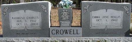 CROWELL, EMMA JANE - Colbert County, Alabama   EMMA JANE CROWELL - Alabama Gravestone Photos