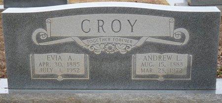 AMERSON CROY, EVIA - Colbert County, Alabama | EVIA AMERSON CROY - Alabama Gravestone Photos