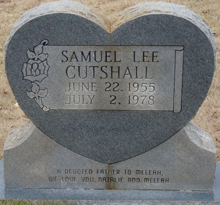 CUTSHALL, SAMUEL LEE - Colbert County, Alabama | SAMUEL LEE CUTSHALL - Alabama Gravestone Photos