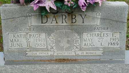 PAGE DARBY, KATIE - Colbert County, Alabama | KATIE PAGE DARBY - Alabama Gravestone Photos