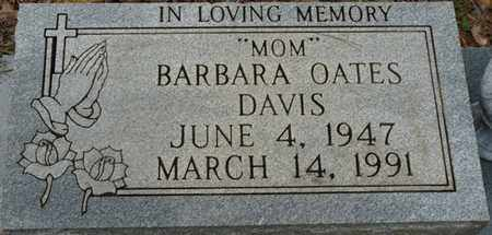 OATES DAVIS, BARBARA - Colbert County, Alabama | BARBARA OATES DAVIS - Alabama Gravestone Photos