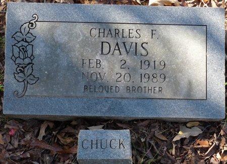 "DAVIS, CHARLES F ""CHUCK"" - Colbert County, Alabama | CHARLES F ""CHUCK"" DAVIS - Alabama Gravestone Photos"