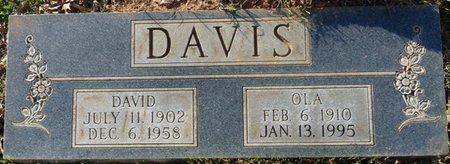 DAVIS, DAVID FRANKLIN - Colbert County, Alabama | DAVID FRANKLIN DAVIS - Alabama Gravestone Photos