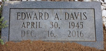 DAVIS, EDWARD A - Colbert County, Alabama | EDWARD A DAVIS - Alabama Gravestone Photos