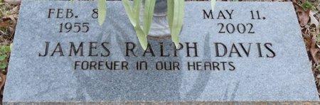 DAVIS, JAMES RALPH - Colbert County, Alabama | JAMES RALPH DAVIS - Alabama Gravestone Photos