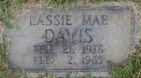 DAVIS, LASSIE MAE - Colbert County, Alabama   LASSIE MAE DAVIS - Alabama Gravestone Photos