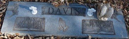 DAVIS, LORENE - Colbert County, Alabama | LORENE DAVIS - Alabama Gravestone Photos