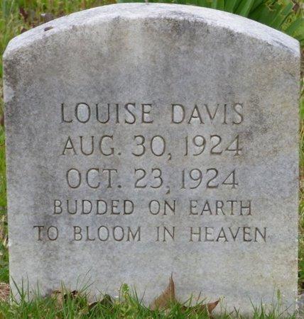 DAVIS, LOUISE - Colbert County, Alabama | LOUISE DAVIS - Alabama Gravestone Photos