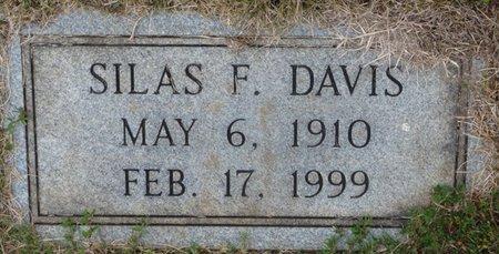 DAVIS, SILAS F - Colbert County, Alabama   SILAS F DAVIS - Alabama Gravestone Photos