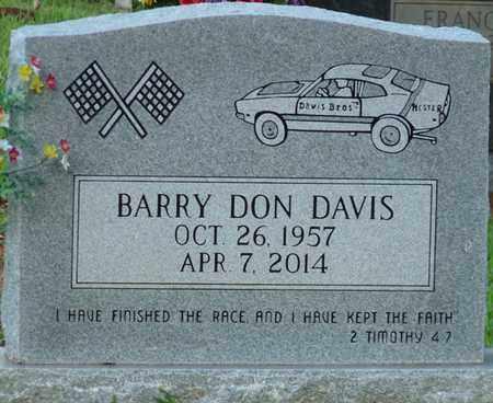 DAVIS SR., BARRY DON - Colbert County, Alabama | BARRY DON DAVIS SR. - Alabama Gravestone Photos