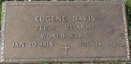 DAVIS (VETERAN WWII), EUGENE - Colbert County, Alabama | EUGENE DAVIS (VETERAN WWII) - Alabama Gravestone Photos