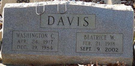 DAVIS, WASHINGTON CLAY - Colbert County, Alabama   WASHINGTON CLAY DAVIS - Alabama Gravestone Photos