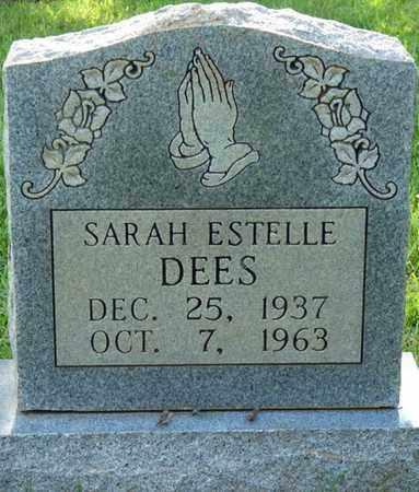 DEES, SARAH ESTELLE - Colbert County, Alabama | SARAH ESTELLE DEES - Alabama Gravestone Photos