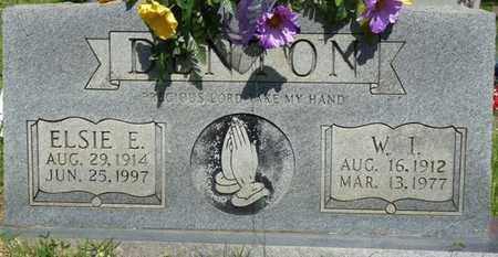 DENTON, W.I. - Colbert County, Alabama | W.I. DENTON - Alabama Gravestone Photos
