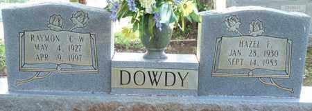 DOWDY, RAYMON C W - Colbert County, Alabama   RAYMON C W DOWDY - Alabama Gravestone Photos