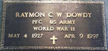DOWDY (VETERAN WWII), RAYMON C W - Colbert County, Alabama | RAYMON C W DOWDY (VETERAN WWII) - Alabama Gravestone Photos