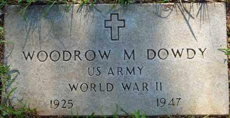 DOWDY (VETERAN WWII), WOODROW M - Colbert County, Alabama | WOODROW M DOWDY (VETERAN WWII) - Alabama Gravestone Photos