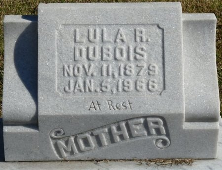 DUBOIS, LULA REBECCA - Colbert County, Alabama | LULA REBECCA DUBOIS - Alabama Gravestone Photos