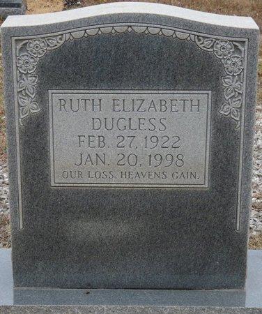 DUGLESS, RUTH ELIZABETH - Colbert County, Alabama | RUTH ELIZABETH DUGLESS - Alabama Gravestone Photos