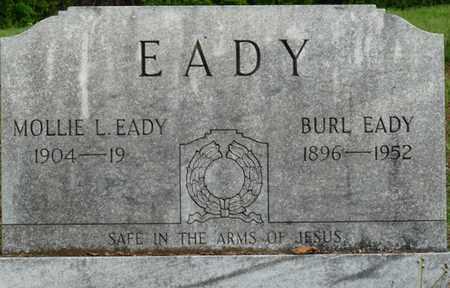 EADY, BURL - Colbert County, Alabama   BURL EADY - Alabama Gravestone Photos