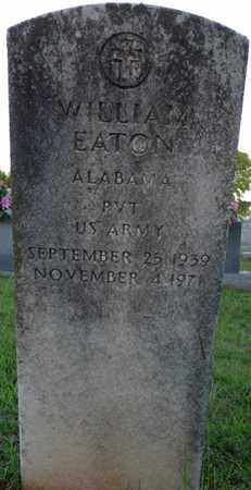 EATON (VETERAN), WILLIAM - Colbert County, Alabama | WILLIAM EATON (VETERAN) - Alabama Gravestone Photos