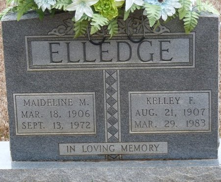 ELLEDGE, KELLEY F - Colbert County, Alabama   KELLEY F ELLEDGE - Alabama Gravestone Photos