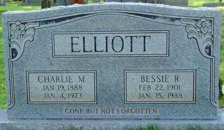"ELLIOTT, CHARLES M ""CHARLIE"" - Colbert County, Alabama | CHARLES M ""CHARLIE"" ELLIOTT - Alabama Gravestone Photos"