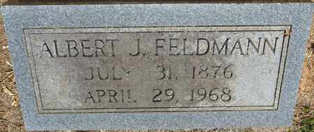 FELDMANN, ALBERT J - Colbert County, Alabama | ALBERT J FELDMANN - Alabama Gravestone Photos