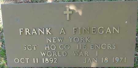 FINEGAN (VETERAN WWI), FRANK A - Colbert County, Alabama   FRANK A FINEGAN (VETERAN WWI) - Alabama Gravestone Photos