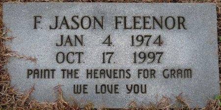 FLEENOR, F. JASON - Colbert County, Alabama | F. JASON FLEENOR - Alabama Gravestone Photos