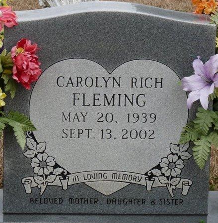 FLEMING, CAROLYN - Colbert County, Alabama | CAROLYN FLEMING - Alabama Gravestone Photos