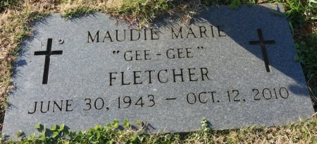 "FLETCHER, MAUDIE MARIE ""GEE-GEE"" - Colbert County, Alabama   MAUDIE MARIE ""GEE-GEE"" FLETCHER - Alabama Gravestone Photos"