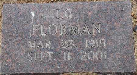 FLORMAN, I. GARY - Colbert County, Alabama | I. GARY FLORMAN - Alabama Gravestone Photos