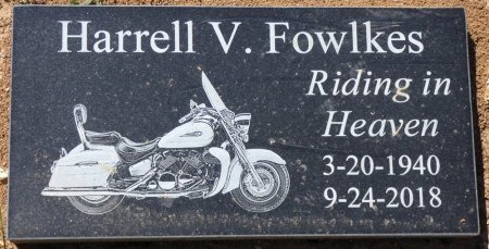 FOWLKES, HARRELL V - Colbert County, Alabama | HARRELL V FOWLKES - Alabama Gravestone Photos